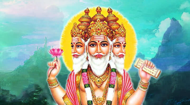 hindu gods brahma